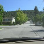 Alta Vista Street with Wires and Foothills