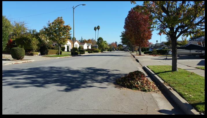 Oster Elementary School area street