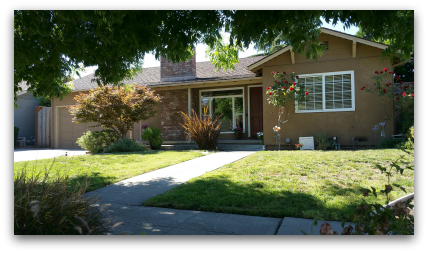 1512 Santa Monica AVE San Jose CA 95124 - front right view