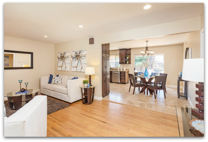 Living Room & Open Floor Plan 1512 Santa Monica Ave SJ 95118