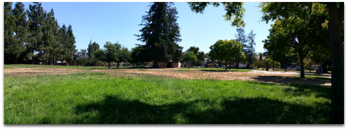 Lone Hill Park in the Cambrian area of San Jose