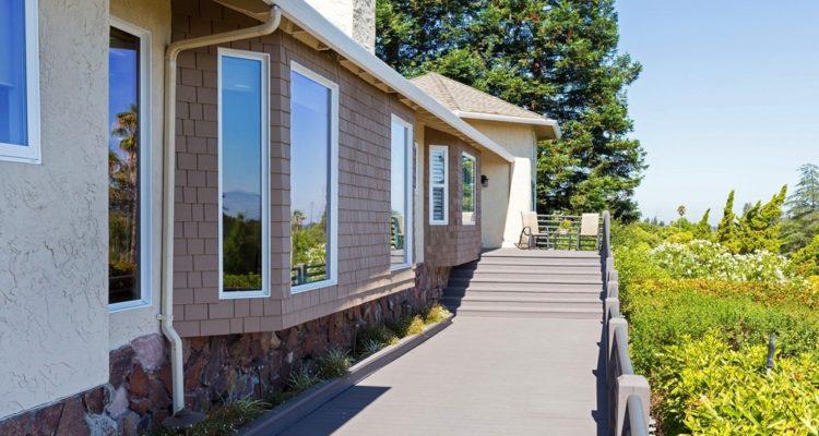 Long front deck