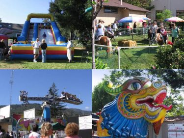 St Mary's Country Fair in Los Gatos Collage