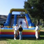 Inflatable Slide, St Mary's Country Fair
