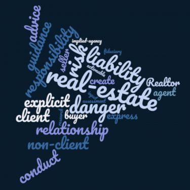 Implied agency word cloud