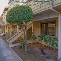 Walkway to 6922 Chantel Court, San Jose CA 95129 - condo for sale with Cupertino schools
