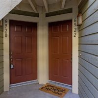 Entry - front door on right side