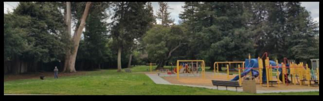 Saratoga Creek Park in the Happy Valley neighborhood in west San Jose
