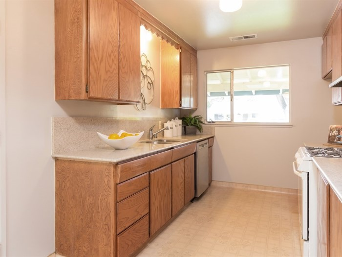 008 Kitchen with quartz countertop and newer Bosch dishwasher - 008_Kitchen with quartz countertop and newer Bosch dishwasher