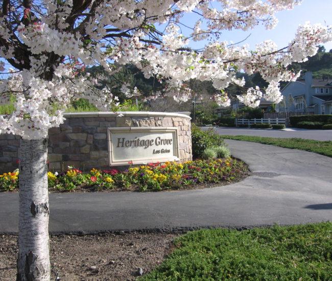 2 Heritage Grove sign 2 framed