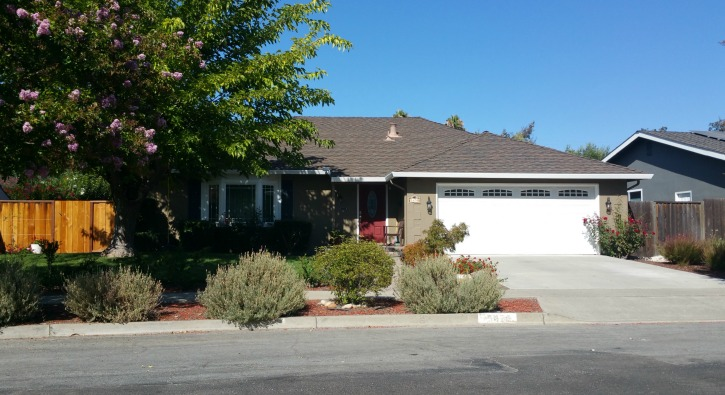 Single Story Del Oro Home - San Jose 95124