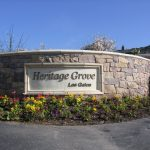Heritage Grove sign