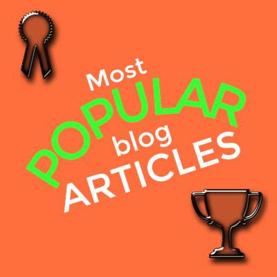 Most Popular Blog Articles