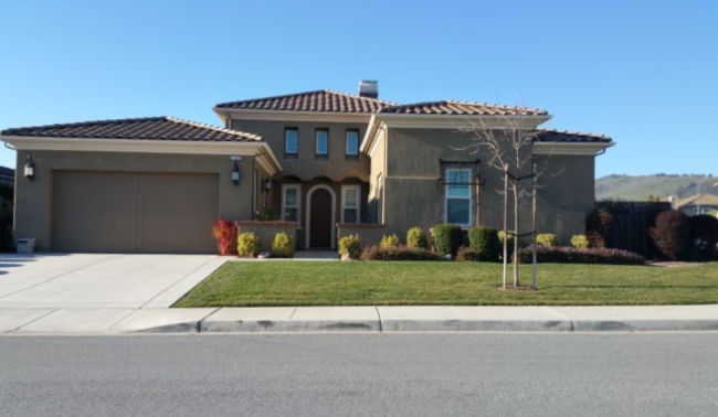 Terra Mia at Mission Ranch in Morgan Hill - single story house