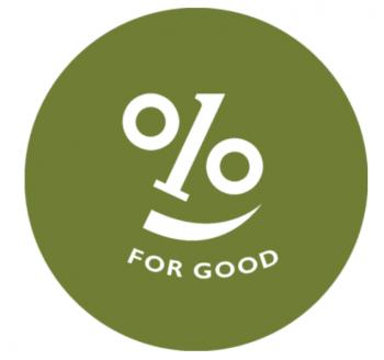Sereno Group 1% for Good logo