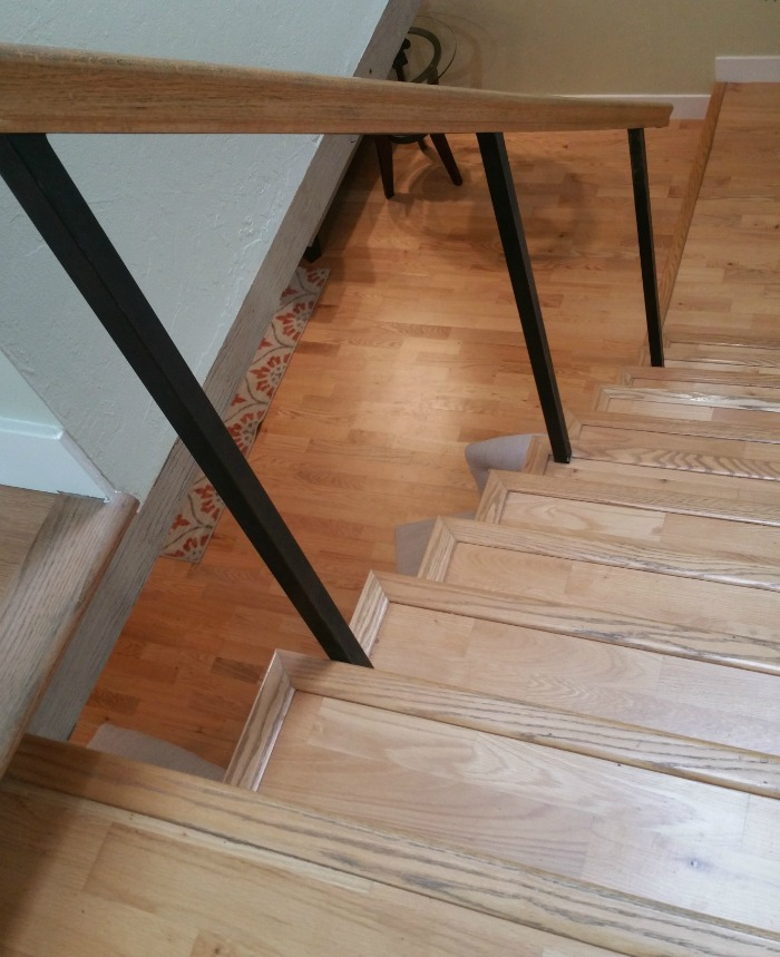 Super wide spacing - most balusters have been removed