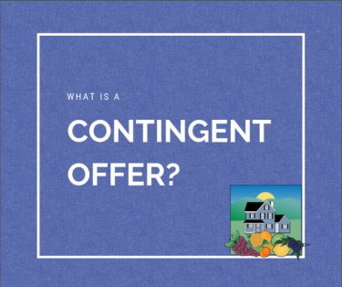 What is a contingent offer