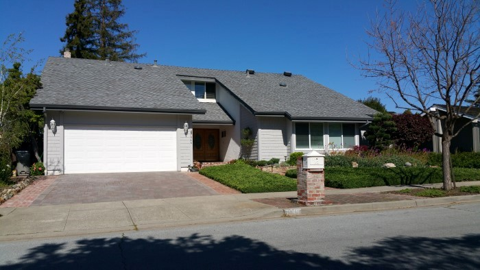 A single family home in the Orchard Creek neighborhood in San Jose's Almaden Valley