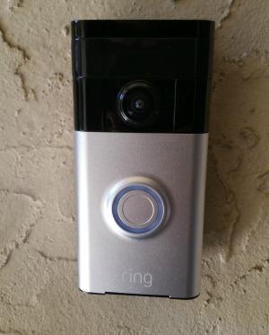 Camera - ring doorbell