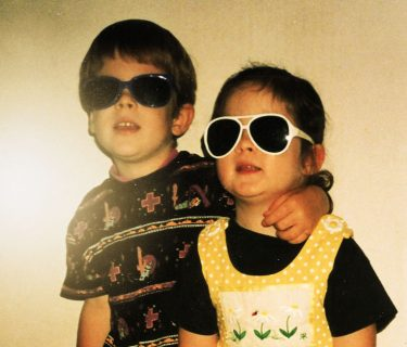 kids with shades