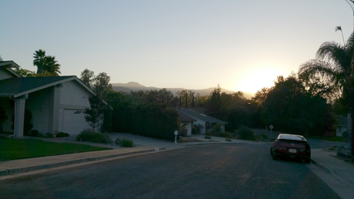 Woodside of Almaden at Sunset