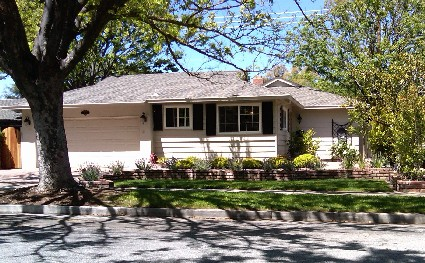 Typical home in the King Streets of Cambrian Park