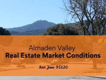 Almaden View Real Estate Market Conditions San Jose 95120 - photo with Mt Umunhum in background