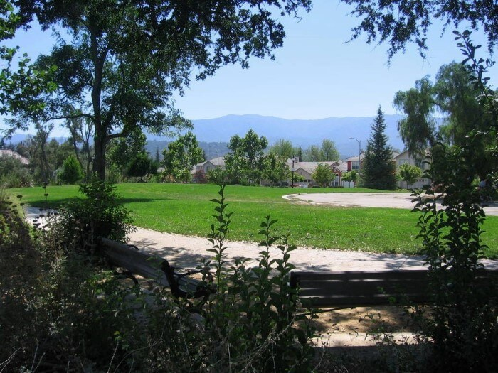 Almaden Winery - greenery hills and homes
