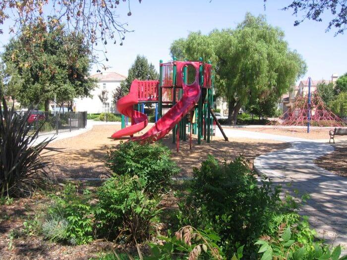 Park tot lot at Almaden Winery community