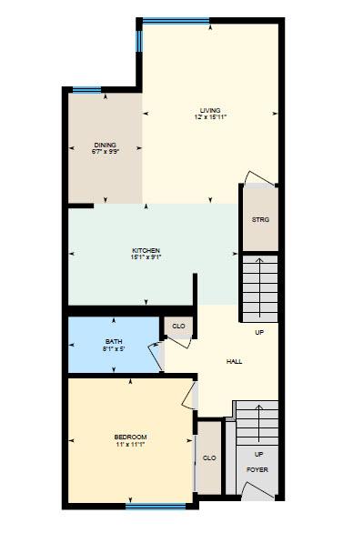 iGuide main floor - San jose condo listing of Mary Pope-Handy's