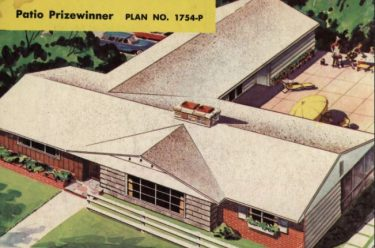Best Homes, issue 17 by Archway Press, Inc. (1958) - the back page color spread for the Patio Prizewinner!