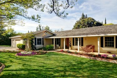 Monte Sereno ranch style house