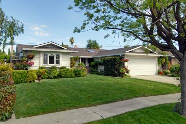 West San Jose ranch style house